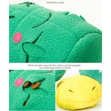 Dog Snuffle Mat Interactive Cactus Chewing Toy Game Puzzle Educational Ball Toys K3NA