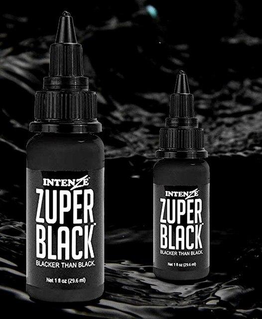 (360ml) Tattoo Ink Bottle Zuper Black Tattoo Pigment Paint Paint 5