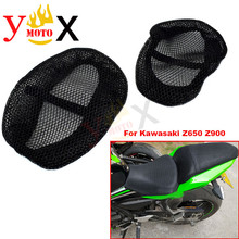 Sport Bike NINJA 650 900 Motorcycle Mesh Seat Cover Cushion Pad Guard Insulation Breathable Sun-proof Net For Kawasaki Z650 Z900