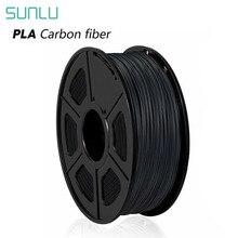Filament Carbon-Fiber 3d-Printer SUNLU Spool Pla 3d Black Pla for Non-Toxic 1KG