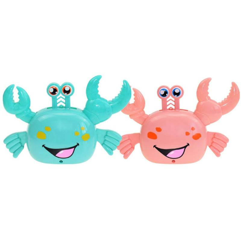Cartoon Electric Crab Toys For Children Automatic Turning Novelty Luminous Educational Toys Birthday Christmas Gift