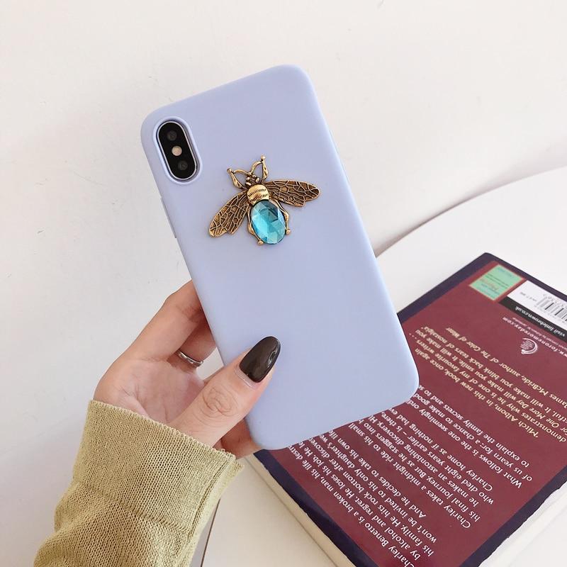 Diamond Bee Case for iPhone SE (2020) 43