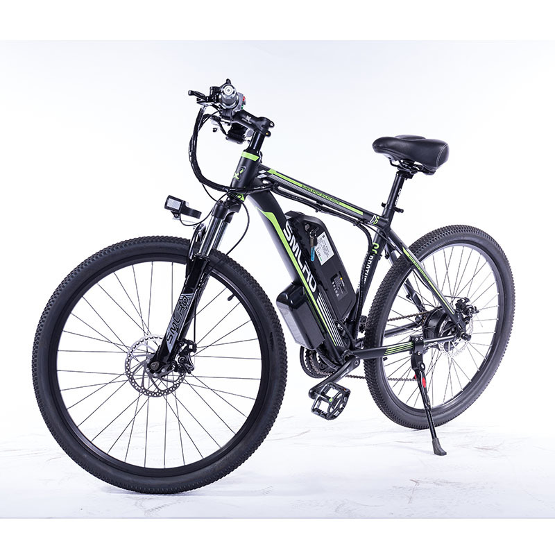"""C6 F 26""""Electric Bike with Removable 48V Lithium-Ion Battery Electric Mountain Bike Adult 350W Powerful Motor Fast Battery 2"""