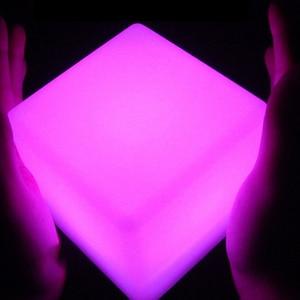 Square LED Night Light Mood Cu