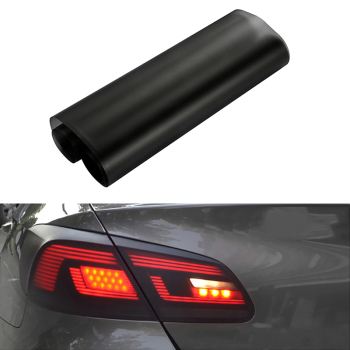 Car-Styling 30*150cm Smoke Light Film Car Matte Black Tint Headlight Taillight Fog Light Vinyl Film Rear Lamp Tinting Film carcardo 40cm x 200cm car headlight taillight tint vinyl film sticker car smoke fog light viny stickers decals car styling
