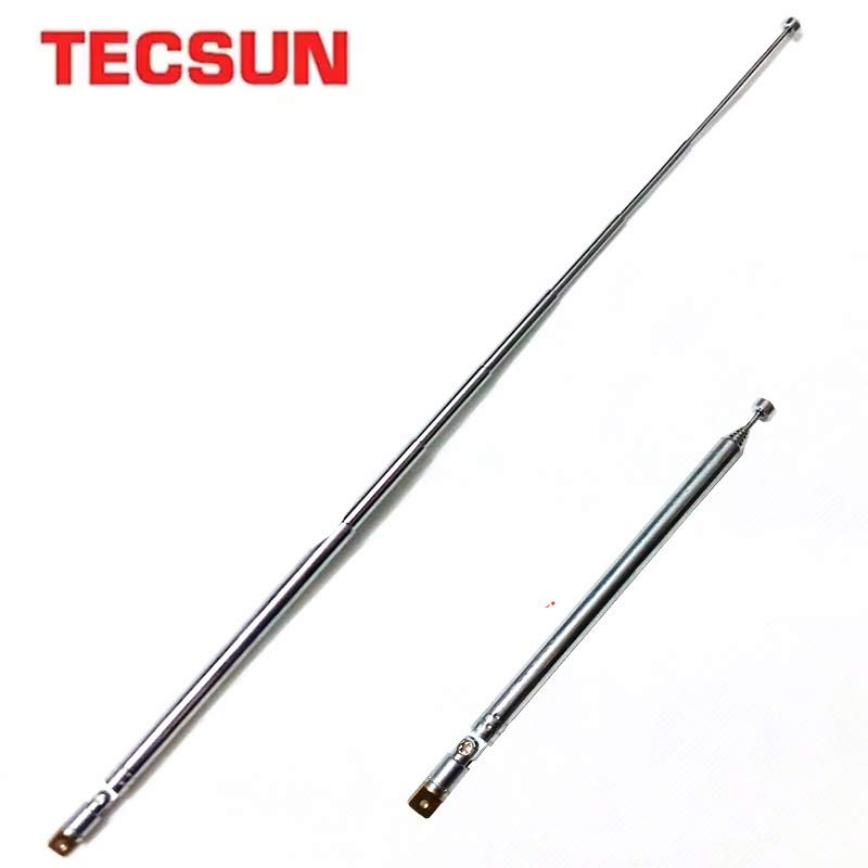 Tecsun Original Antenna Replacement Radio Steel Whip PL-660 PL-600 PL-310 PL-380 R-9012 PL-360 D-808 PL-880 S-2000 Antenna