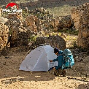 Image 5 - Naturehike 新到着クラウドアップ Cuben 繊維 2 人のキャンプのテント超軽量 15D ProfssIonal アジア屋外金賞テント NH
