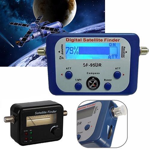 2019 Новый портативный цифровой ЖК-спутниковый искатель сигнала измеритель силы Sky Dish Freesat 950-2150MHz