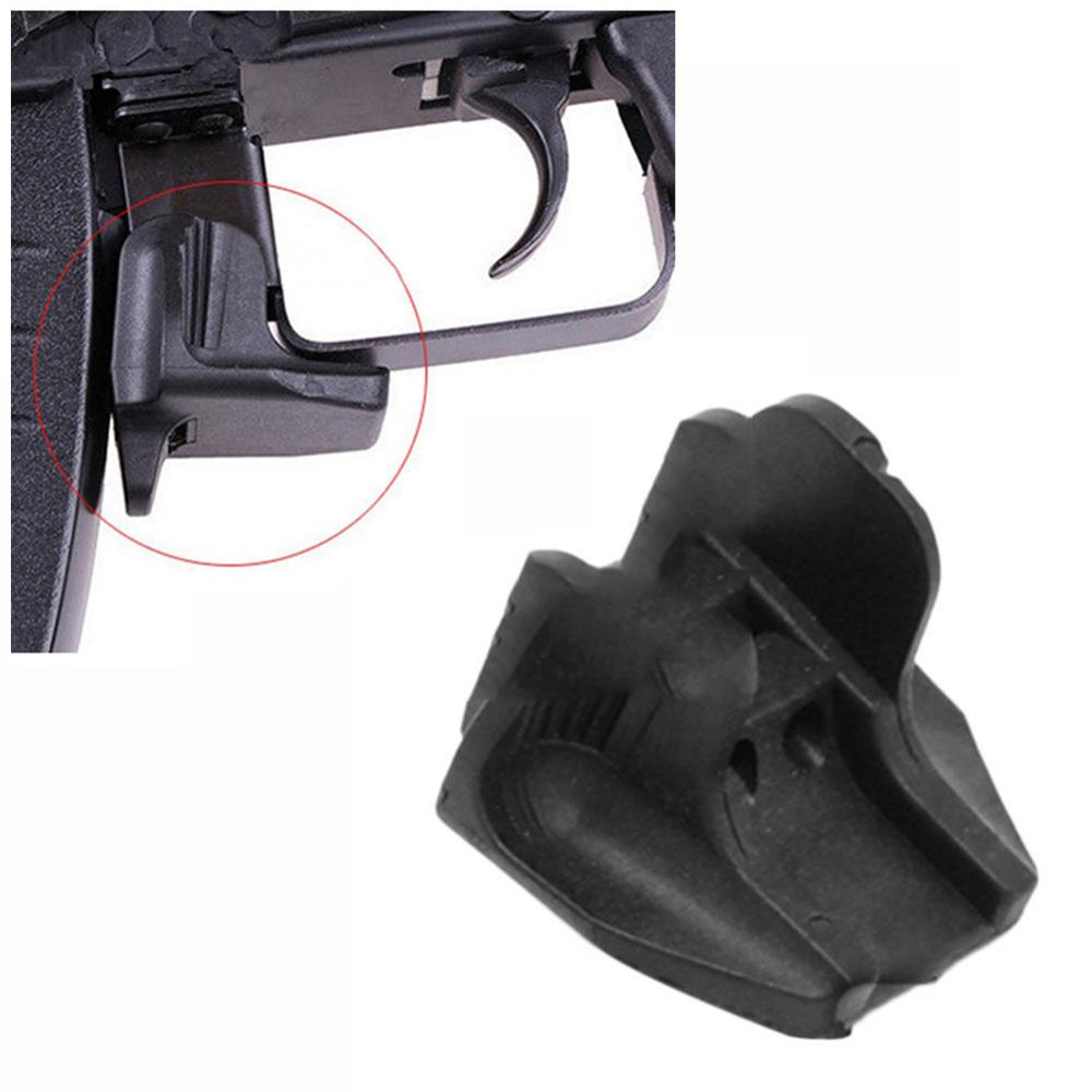 Tactical Airsoft M4 M16 ar 15 accessories Polymer Magazine Release Extension for hunting shooting pistol image