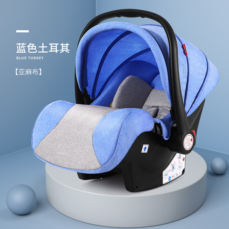Twin Baby Strollers Can Sit Lie Detachable Lightweight Folding Second Child Double Size Treasure Trolley with Car Seat