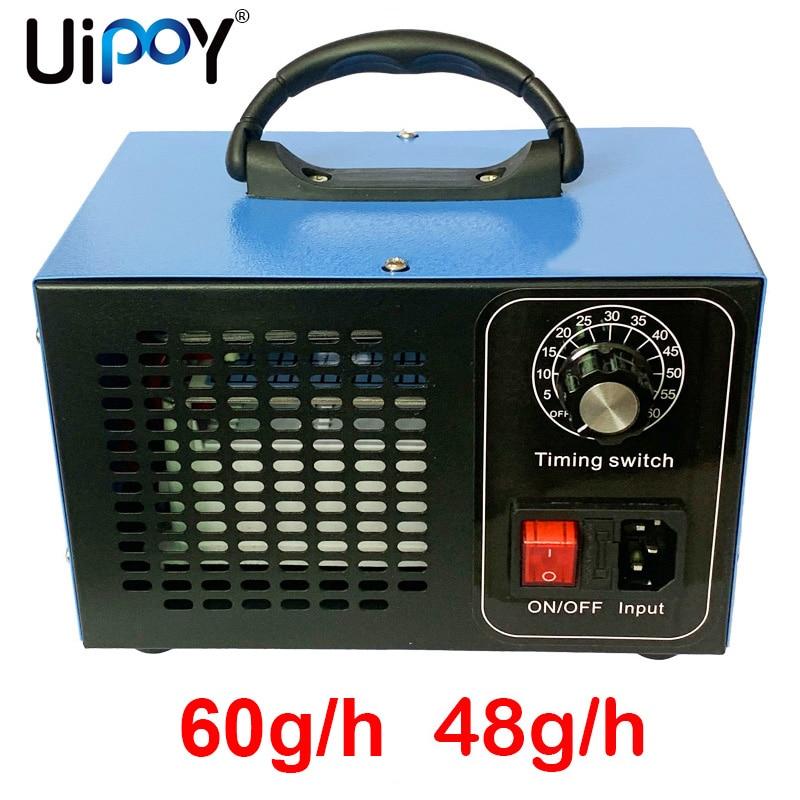 60 g/h générateur dozone Machine à lozone 48 g/h Air stériliser purificateur purificateur désinfection stérilisation enlever odeur O3 ozonizador