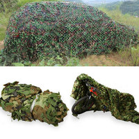 Military Camouflage Nets Army Camo Netting Camping Leaves Camo Style Hunting Shade 3*4 M