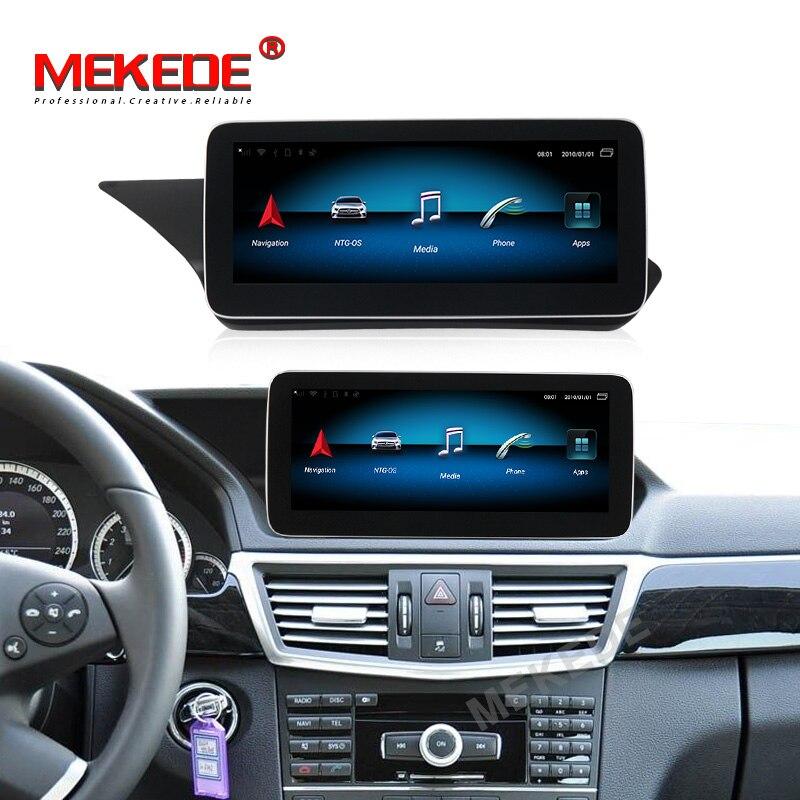 Android9.0 4+64G 4G Lte Car GPS Navigation Multimedia Player For Mercedes Benz E Class W212 E200 E230 E260 E300 S212 2009-2015