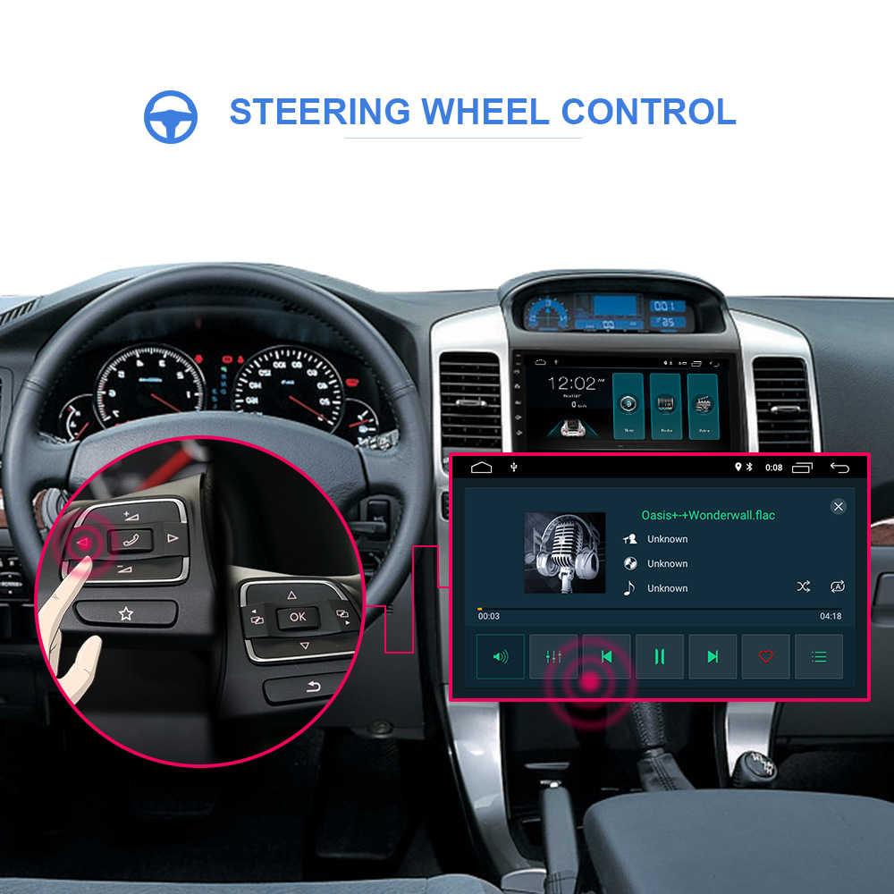 2 Din Android 9.1 samochodowy multimedialny odtwarzacz wideo Autoradio dla Toyota Land Cruiser Prado 2004-2009 2Din radiowy system nawigacyjny GPS WIFI