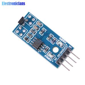 3144E Hall Sensors Module 4pin Hall Switch Speed Magnetic Swiches Speed Counting Sensor Module for Arduino Smart Car