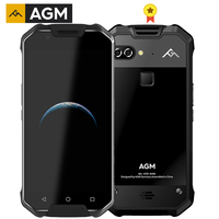 AGM X2 SE IP68 Rugged Phone 6G 64G MSM8976SG Octa Core Android 7.1 Rear Dual 12MP Front 16MP 5.5AMOLED Screen LTE Mobile Phone