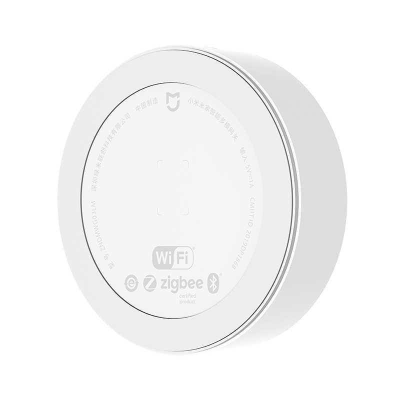 Yeni Xiaomi çok modlu akıllı ev ağ geçidi 3 ZigBee 3.0 WIFI Bluetooth örgü Hub Mijia APP Apple Homekit akıllı ev Hub