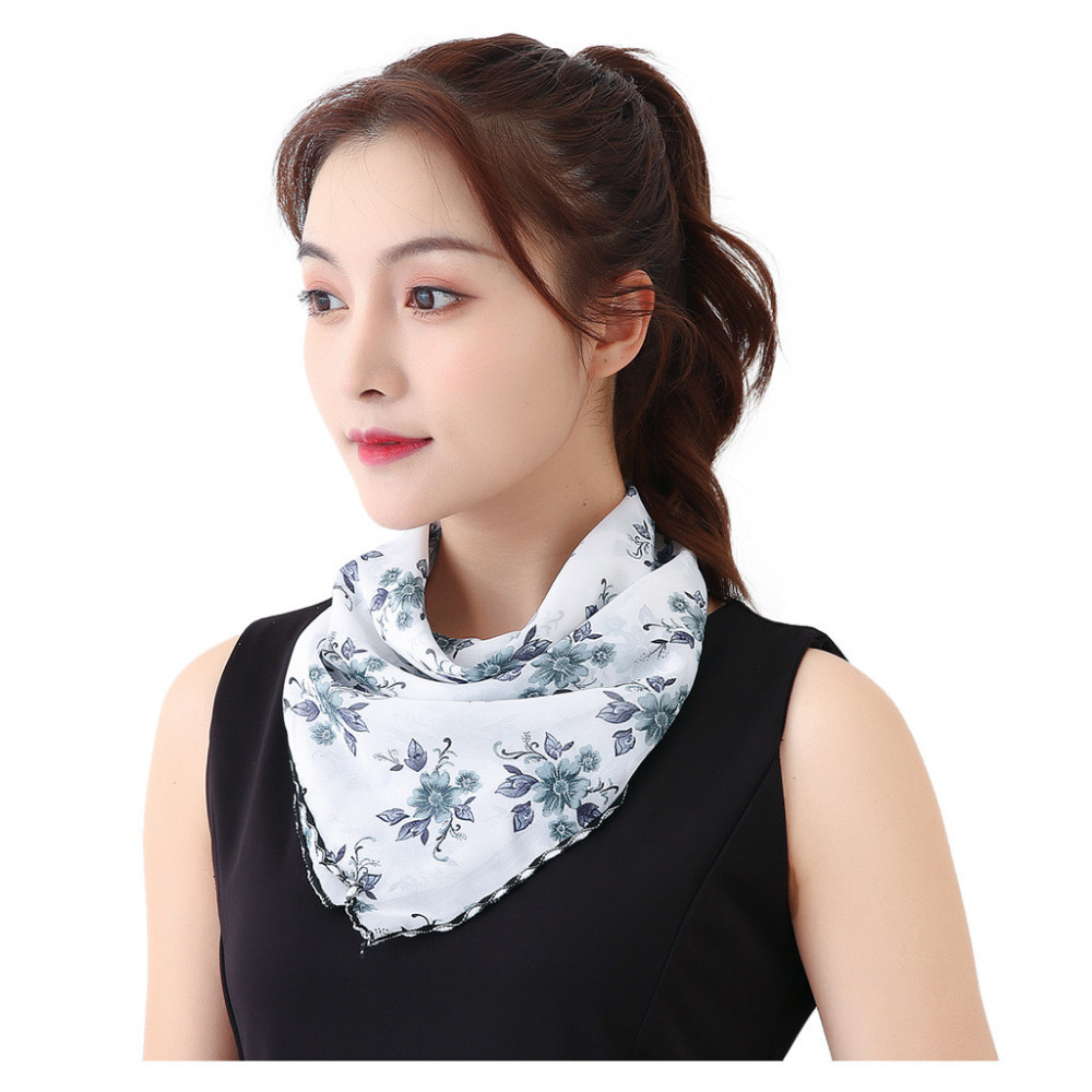 Women's Protective Washable Cotton Scarf Mask 11