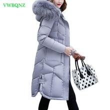New Winter Jacket Women Long Down cotton jacket Women Parka