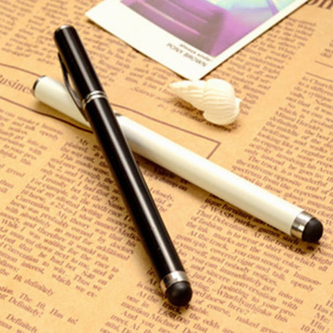 Capacitive touch dual-use ouch Screen Pen Stylus + Ballpoint Pen For mobile phone tablet Karachi