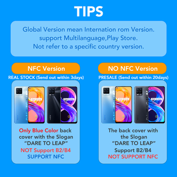 [Real Stock] realme 8 Pro Global Version 6GB/8GB 128GB 108MP Camera 50W SuperDart Charge Super AMOLED 2
