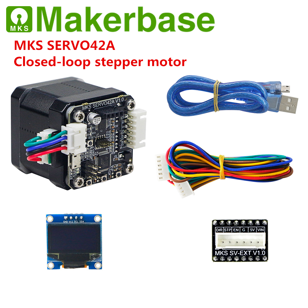 Closed Loop Stepper Motor Servo Step Motor MKS SERVO42A SMT32 Close-loop Motor Controller For Nema 17 3d Printer Stepping Engine