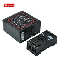 Pojedynczy kanał detektor pętli indukcyjnej automatyczna brama i bramka barierowa/kontroler pętli/liczniki ruchu DC12V DV24V 110v 220V w Sprzęt do parkowania od Bezpieczeństwo i ochrona na