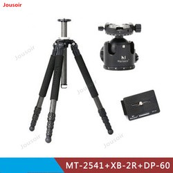 MT-2541+XB-2R+DP-60 carbon fiber tripod bearing 16kg PTZ set photography accessories CD50 T03