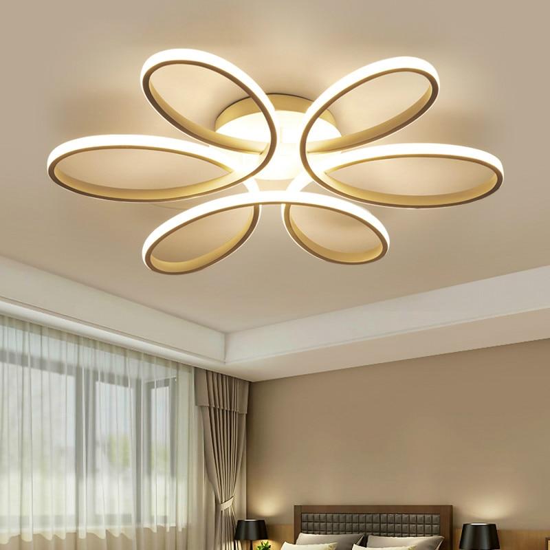 Moderne Led Lustre lampe éclairage nouveauté salon Lustre lampara plafonnier pour chambre 72W 90W 120 Wlampadario moderno