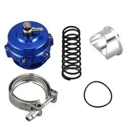 Zmodyfikowany motoryzacyjny Turbo ciśnieniowy zawór nadmiarowy zawór wydechowy 50mm BOV Turbo zawór odpowietrzający