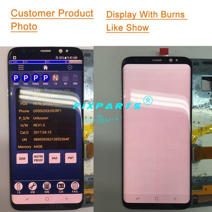 Samsung Gaxaly S8 G950 S8 Plus G955 LCD Display