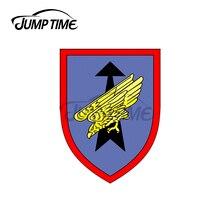 Jump Zeit 13x9cm Für 26th Airborne Brigade Saarland Armee Auto Aufkleber Surfbrett Feine Aufkleber Wasserdicht Vinyl Aufkleber dekoration