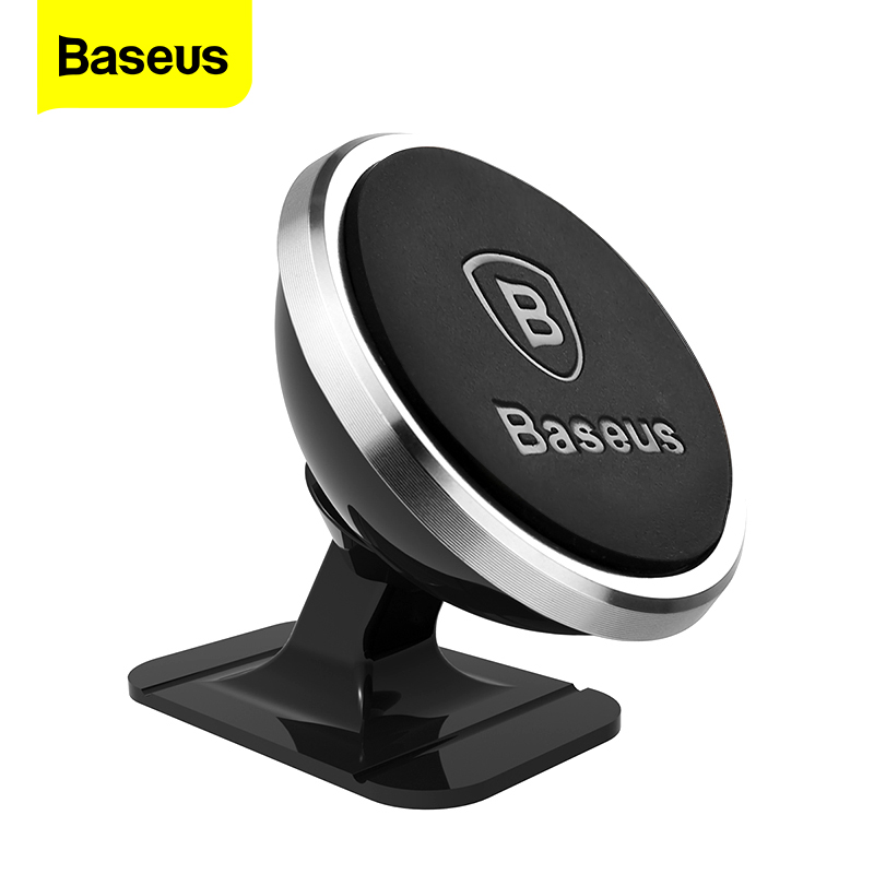 Baseus Magnetic Car Phone Holder For iPhone Xs Max X Samsung S10 Magnet Mount Car Holder Stand Cellphone Holder Support In Car(China)