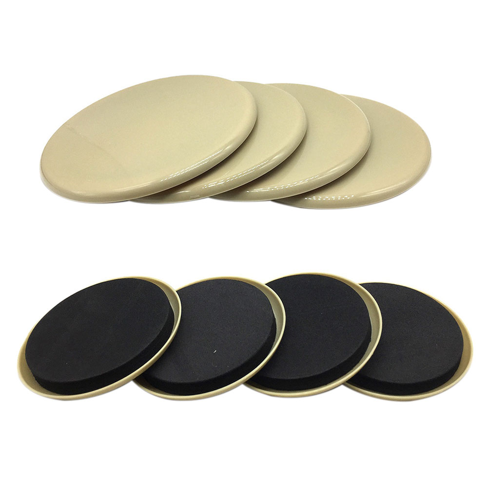 8pcs Thickened Heavy Appliances Wear Resistant Labor Saving Reusable Protect Carpet Glider Furniture Sliders Moving Pad Sturdy
