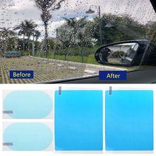 2 пары автомобиля анти вода анти туман покрытие непромокаемая гидрофобная защитная пленка G6KC
