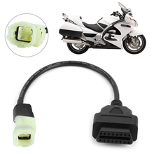 Fault-Detection-Parts Diagnostic-Adapter Motorcycle OBD2 Honda Cable 3-Pin Fit-For
