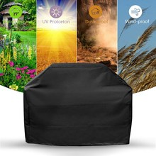 New Waterproof Cloth Cover Grill BBQ Protection Dust-proof Square Barbecue Supplies For Outdoor Accessories