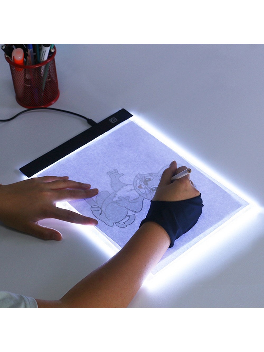 Pad-Board Toys Educational-Toys Led-Drawing Dimmable Size-Painting Baby Creativity Copy