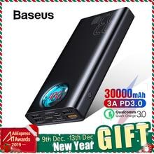 Baseus 30000mAh Power Bank Quick Charge 3.0 USB C PD Fast Ch