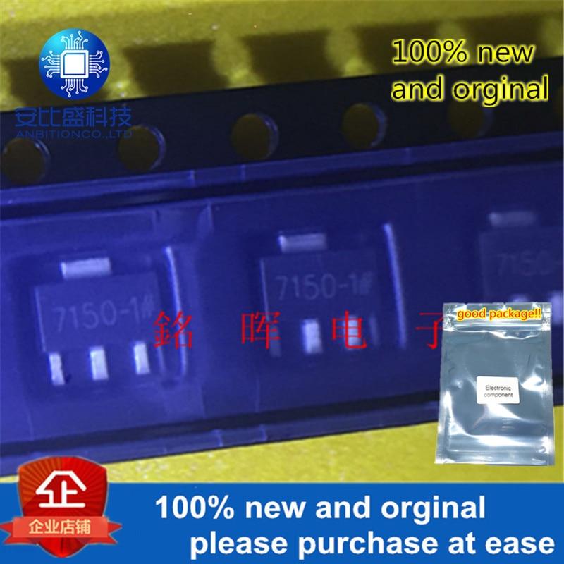 10pcs 100% New And Orgianl HT7150 Silk-screen 7150-1 SOT-89 In Stock