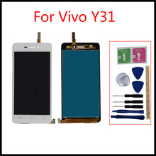 High quality For BBK Vivo Y31 4.7 LCD Monitor Touch Screen Panel Pantalla Ekran Digitizer Assembly Replace parts+free tools 100% high quality lcd for vivo y27 lcd touch screen panel y27 display monitor lcd ekran digitizer assembly replacement parts