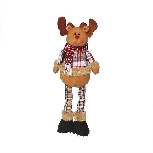 Хит, 30 стилей, рождественские украшения для дома, Рождественские куклы, елочные украшения, инновационная декорация с лосем, Сантой, снеговиком - Цвет: 05 51x13cm