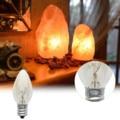 E12 светильник лампочка 220V 10W 100LM 2700K прозрачный теплые Цвет C7 накаливания Вольфрам ночной лампа гималайские солевые лампы Прямая поставка