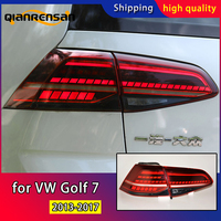 Car Styling for Volkswagen Golf 7 Tail Lights 2013 2017 Golf7 Mk7 LED Tail Lamp LED DRL Dynami Signal Brake Reverse Accessories
