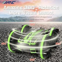 New JJRC Q81 1:20 2.4G 2-in-1 Double Sided Stunt Amphibious 360 Degree Rotation RC Vehicle RC Car Remote Control Car Outdoor Toy