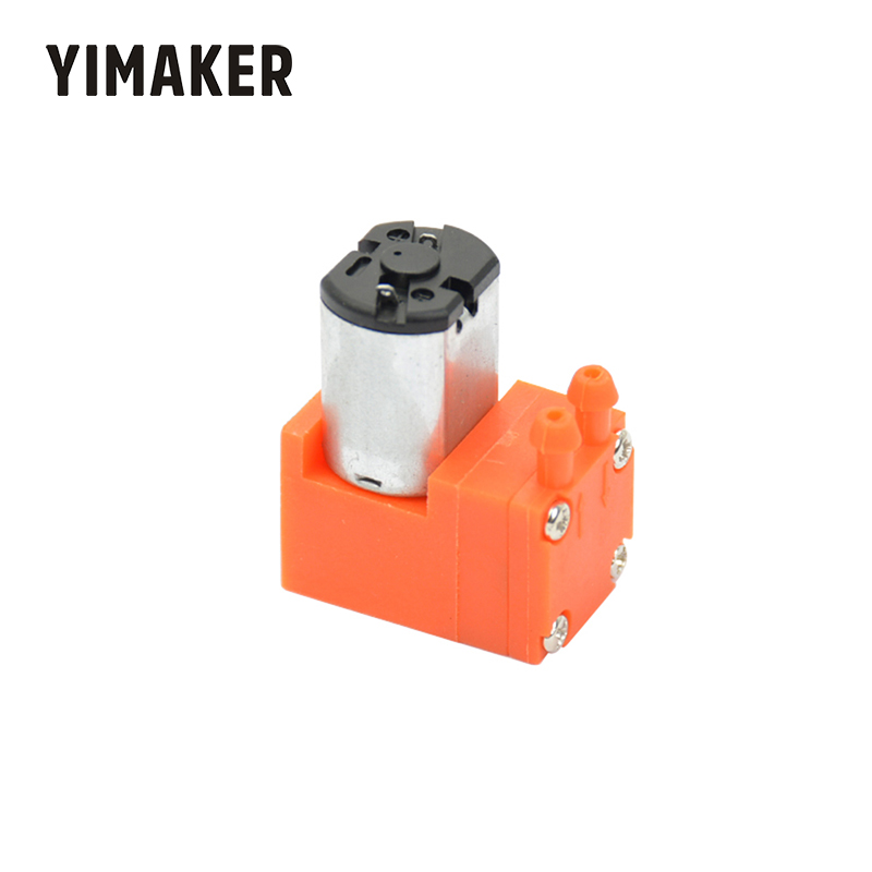 YIMAKER DC3-6V Micro Vacuum Diaphragm Pump 0.5L/min 0.6W For Laboratory Electronics Industry Teaching Equipment