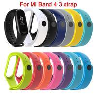 Armband Für Xiaomi Mi Band 4 3 Sport Strap Ersatz Armband MiBand 3 4 Band Handgelenk Gurt Für Xiaomi Mi band 4 3 Strap