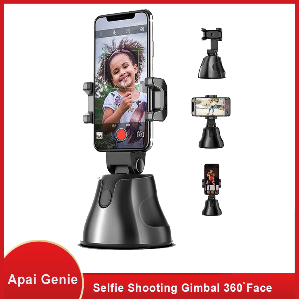 Selfie Shooting Smartphone Selfie Shooting Gimbal 360 Face & Object Follow Up Selfie Stick For Photo Vlog Live Video Record