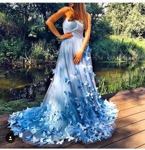 Винтажные Свадебные платья с бабочками для фотографии, 2020, сексуальные, милые, вечерние платья для выпускного вечера, платья для матери неве...