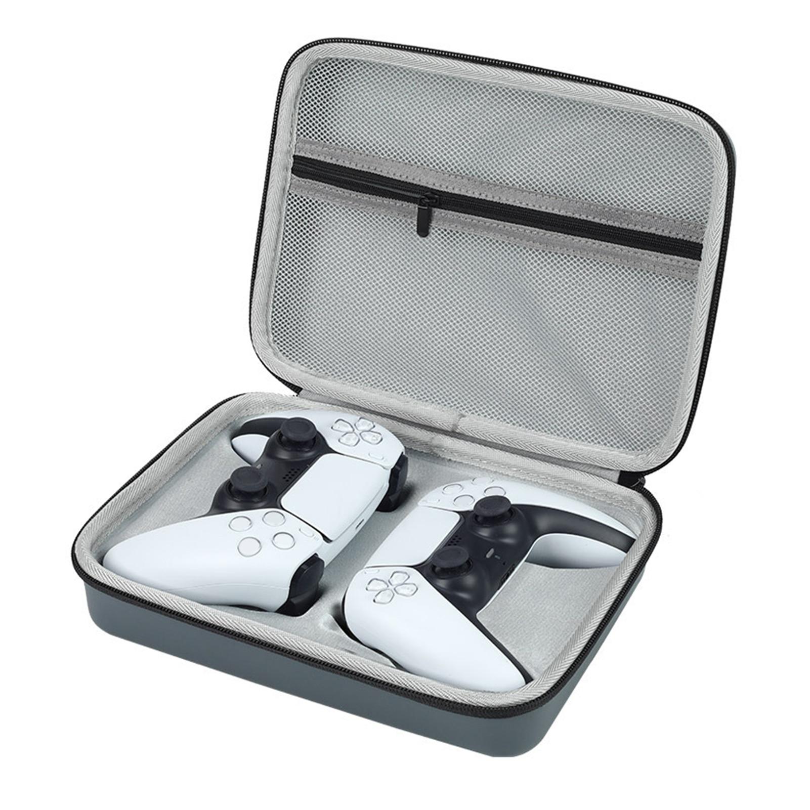Portátil EVA Treval bolsa de almacenamiento de Estuche de transporte para PS5 PS4 Doble controlador de Shell protectora a prueba de golpes para PS5 /4 Gamepad